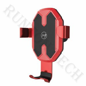Wostar 10W Fast Charging Qi Wireless Charger Car Mount Mobile Phone Holder