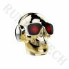 Yzs-M10 Portable Mini HD Bass Sound Wireless Stereo Skull Speaker