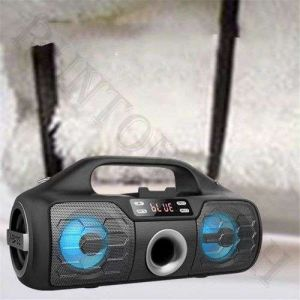 Yzs-M12 Factory Price Special LED Light Portable Loud Wireless Speaker